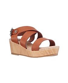 Little Girls Amber Rivet Sandals