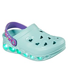 Little Girls Foamies Light Hearted - Unicorns Sunshine Casual Clog Shoes from Finish Line