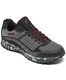 Men's Fila Evergrand Trail Running Sneakers from Finish Line