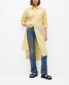 Cotton Shirt Dress