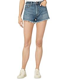 The Emmy Cotton Denim Shorts