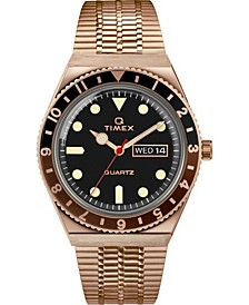 Men's Lab Archive Rose Gold-Tone Stainless Steel Bracelet Watch 38mm