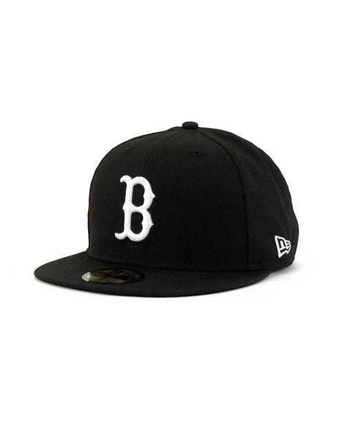 best loved b148e be3c9 ... New Era Boston Red Sox B-Dub 59FIFTY Cap ...