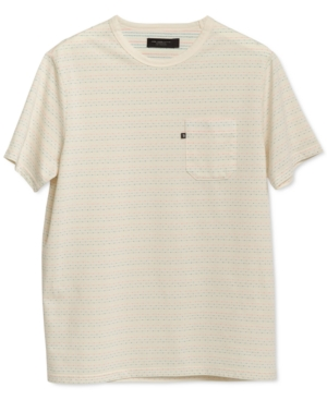 Men's Pacino Short Sleeve Striped Pocket Tee