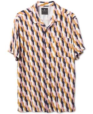 Men's Alexei Short Sleeve Printed Camp Shirt