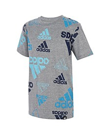 Big Boys Short Sleeve Brand Love T-shirt