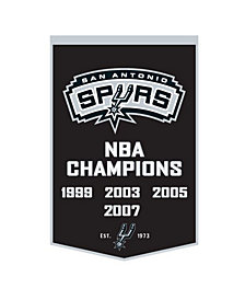 Winning Streak San Antonio Spurs Dynasty Banner