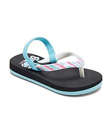 Toddler Girls Pebbles Flip-Flops