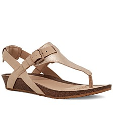 Women's Mahonia T-Strap Sandals