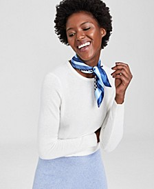 Crew-Neck Cashmere Sweater, In Regular and Petites, Created for Macy's