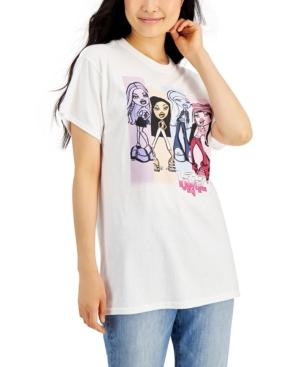 Mighty Fine Juniors' Bratz Graphic Short-Sleeve Boyfriend T-Shirt