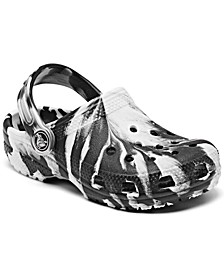 Little Boys Classic Tie-Dye Clog Sandals from Finish Line