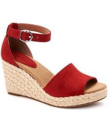 Seleeney Wedge Sandals, Created for Macy's