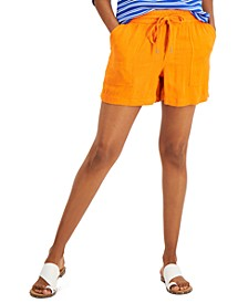 Tie-Waist Shorts, Created for Macy's