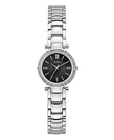 Women's Petite Silver-Tone Watch 25mm