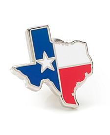 Men's Texas Flag Lapel Pin