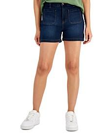 Denim Sailor Shorts, Created for Macy's