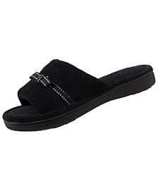 Isotoner Women's Microterry Milly Slide Slipper