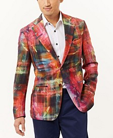 Men's Floral Slim Fit Blazer