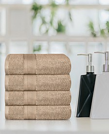 Feather Touch 4 Piece Towel Set