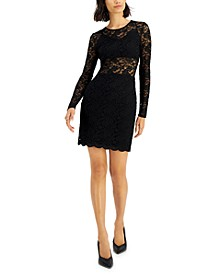 Lace Mini Dress, Created for Macy's