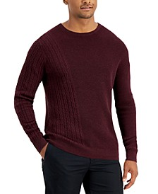 Men's Geo-Stich Sweater, Created for Macy's