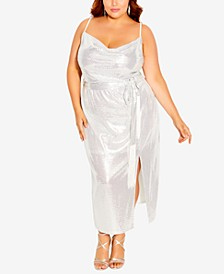 Trendy Plus Size Disco Fever Dress