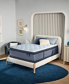 "Perfect Sleeper Renewed Sleep 17"" Plush Pillow Top Mattress- Twin XL"