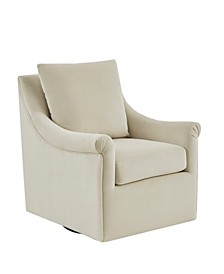 Deanna Angled Track Arm Swivel Chair