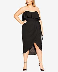 Trendy Plus Size Breath Taking Dress