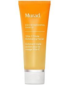 Environmental Shield Vita-C Triple Exfoliating Facial, 2.7-oz.