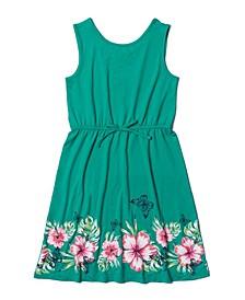Girls 7-16 Graphic Hem Tank Top Dress