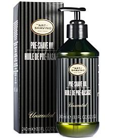 The Pre Shave Oil, Unscented, 8.1 Fl Oz