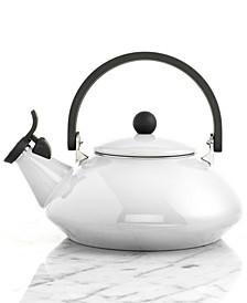 CLOSEOUT! 1.6 Qt Enameled Steel Zen Tea Kettle