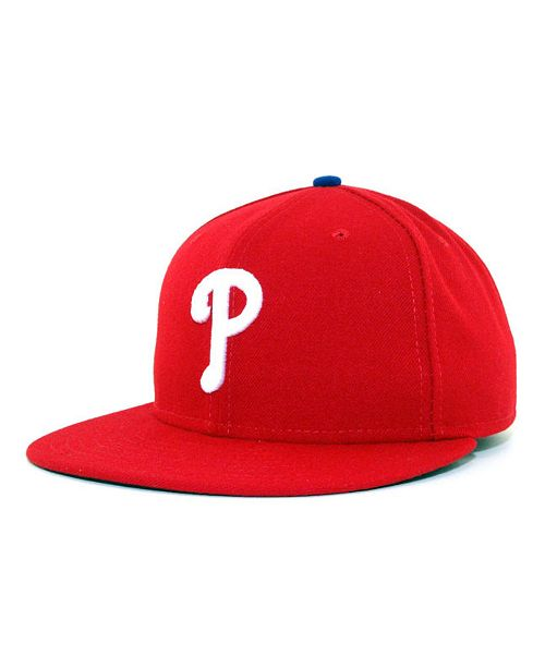 New Era Philadelphia Phillies MLB Authentic Collection 59FIFTY ... 84ea7d63408