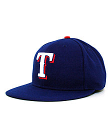 New Era Texas Rangers MLB Authentic Collection 59FIFTY Fitted Cap