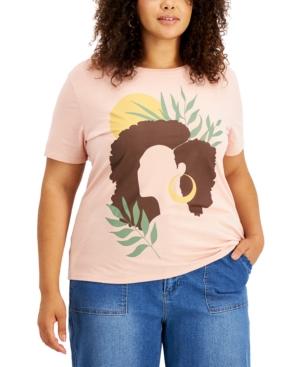 Trendy Plus Size Graphic-Print Short-Sleeve T-Shirt