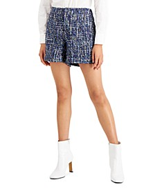 Tweed Shorts, Created for Macy's