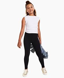 Big Girls Solid Basic Legging