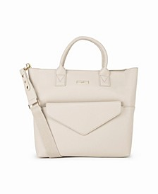 24-7 Tote Bag with Removable After Hours Clutch