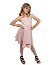 Big Girls Double Skirt Dress