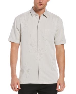 Men's Two-Tone Floral Shirt