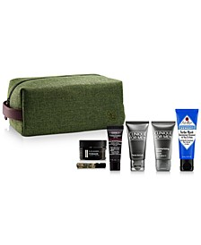 Choose your Free 7-PC Gift with select $85 Men's Skincare and Grooming purchases