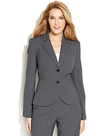 Calvin Klein Petite Two-Button Jacket