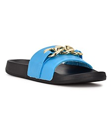 Women's Slinks Flat Slide Sandals