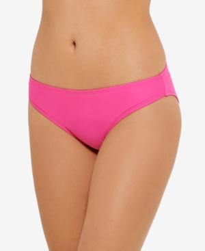 Juniors' Solid Bikini Bottoms