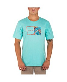 Men's Every Day Washed Double Up Tropics T-shirt