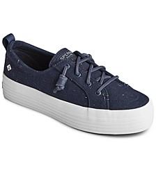 Confetti Platform Crest Vibe Sneakers