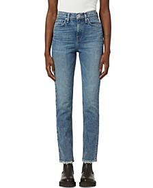 Holly High-Rise Straight-Leg Jeans