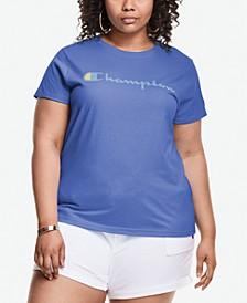 Plus Size Classic Logo Graphic T-Shirt